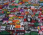 RANDOM Sew Iron On Patches Wholesale Music Rock Band Metal Punk toppe toppa DIY