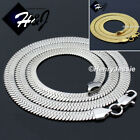 """20""""24""""MEN Stainless Steel 6mm Gold/Silver Herringbone Chain Necklace*N159"""