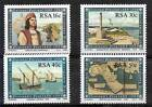 SOUTH AFRIKA RSA 1988, SHIP,MAP,DISCOVERY YV 638-41 MNH
