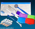 Braces Starter Kit ~ Orthodontic Toothbrush, Wax, Tongue Cleaner, Mirror & More