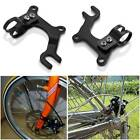 Bike Bicycle Disc Brake Modification Bracket Frame Adapter Mounting Holder Stand
