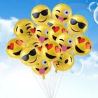 1/4/24Pcs Multi Pattern Emoji Foil Balloons Wedding Birthday Party Decor NEUS