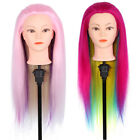 2Colors Training Mannequin Heads Practice Head Long Hairl Model Mannequin+Clam G
