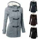 Women Fashion Winter Warm Hooded Trench Coat Jacket Overcoat Parka Outdoor Coats