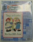 Raggedy Ann & Andy Janlynn THINGS ARE SWEETER Counted Cross Stitch Kit Unopened