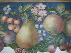 KITCHEN  FRUIT and FLOWER Wallpaper Border