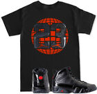 2018 Retro 9 Black T Shirt to match with 2018 Air Jordan Retro 9 Bred shoes  image