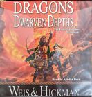 Weis & Hickman Dragons of the Dwarven Depths audiobook CD, complete & unabridged