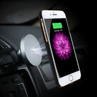 Qi Wireless Fast Charger Magnetic Car Mount Holder For Samsung S8 iPhone 8/X
