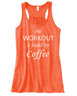 New Women's Workout Racerback Tank Top Bella Athletic Gym Sports Funny Tee Shirt