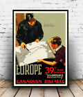 Canadian Pacific : Vintage Travel Ad , poster, Wall art, poster, reproduction.