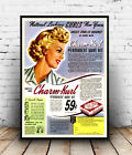 Champ kurl : Vintage haircare Advert , poster, Wall art, poster, reproduction