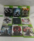 Lot of 9 xbox360 games
