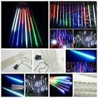 Meteor Shower Falling Rain Drop Snow Icicle Xmas Party Tree Lights String Decor