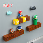 Game Super Mario Magnets 3D PVC Fridge Note Posted Collection Home Decor Sticker