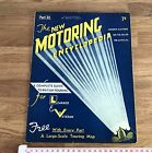 Vintage Art Deco Era 1930's New Motoring Encyclopedia Issue Part 32 May 1937