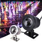 10W 12V RGB LED Underwater Spotlight Garden Swimming Pool Lamp IR Remote Control