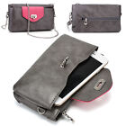Womens Fashion Smart-Phone Wallet Case Cover & Crossbody Purse EI64-16