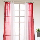 Fashion Moden Tulle Voile Door Window Curtain Panel Sheer Scarf Home Room Decor