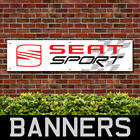 Seat Sport PVC Banner Garage Workshop Showroom Advertising Signs (BANPN00206)