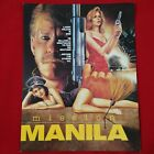 tb Mission Manila Vintage Movie Promo Ad Flyer Pinup Poster Larry Wilcox 80s 90s