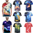 Men's Unisex Plus size 3D Print T-Shirts Creative Funny Tops Stylish Casual Tee
