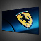 FERRARI SPORTS CAR CANVAS PICTURE PRINT WALL ART HOME DECOR FREE DELIVERY