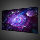 PURPLE NEBULA FANTASY CANVAS PRINT PICTURE WALL ART  VARIETY OF SIZES