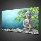 MEDITATION STONE BUDDHA CANVAS PICTURE PRINT WALL ART HOME DECOR FREE DELIVERY