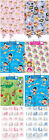 2 Pack - Kids Gift Wrap & Tag Boy & Girl - Pirate Princess Fairy Jungle Smiley