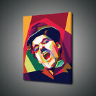 CHARLIE CHAPLIN POP ART CANVAS PRINT PICTURE WALL ART FREE UK DELIVERY