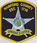 Harford County Sheriff´s Office Maryland Patch NEW!