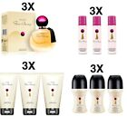 Avon Far away set stock 3 x profumo donna 50 ml deodorante spray sfera lozione