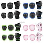 Bike Knee Pads and Elbow Pads with Wrist Guards Protective Gear New Kids EF