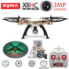 Syma X8HC Explorers Drone 6-Axis Gyro Colorful LED RC Quadcopter 2MP HD Camera