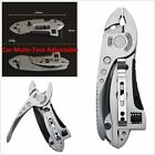 Screwdriver Pocket Knif Spanner Pliers Hand Tool Adjustable Wrench
