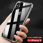 iPhone X 8/ 7 Plus case Samsung Cover built Extra Air Cushion Cover Crystal Clea