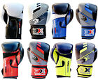 3X Sports Boxing Training Gloves Fight Punch Bag Kickboxing Sparring Mitts UFC