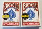 Bicycle Playng Cards 2 Sealed Standard Size Packs