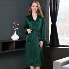 Pure Silk  Heavy Weight Womens Long Dressing Robe
