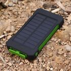 900000mAh Solar Power Bank Portable Dual USB External Battery Charger For Phone