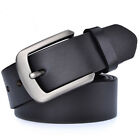 Big Size S-9XL Casual Belts for Jeans Men's Belt 100% Real Leather Belt 3 Colors