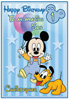 Mickey & Minnie Mouse Inspired Birthday Cards - Personalised & Gorgeous !