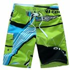 Men Beach Surf Shorts Quick Dry Swimwear Loose Elastic Drawstring Swim Trunks HO