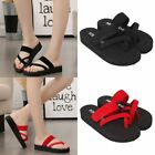 Ladies  Casual Slippers Flip Flops Flat Sandals Beach Open Toe Shoes Sizes