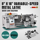 8 x 16Variable-Speed Mini Metal Lathe Accessory Package Processing