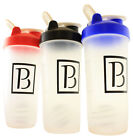28oz NEW Shaker Bottle Cup Blender Protein Supplement Drink Mixer Wire Whisk