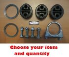 Mazda 6 GG GY EXHAUST FITTING REPAIR KIT RUBBER CLAMP GASKET HANGER SILENCER .