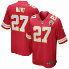 New Kareem Hunt 27 Kansas City Chiefs Mens Limited Jersey Red