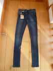 FAT FACE STRETCH COTTON WASHED INDIGO SUPER SKINNY SOFT JEGGINGS JEANS UK6 35455